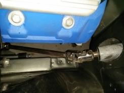 custom steering fitting