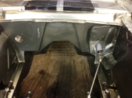 Aircon will now be on the left and you can see the custom steering link