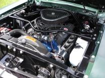 Billet Engine bay