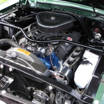 Billet Engine bay