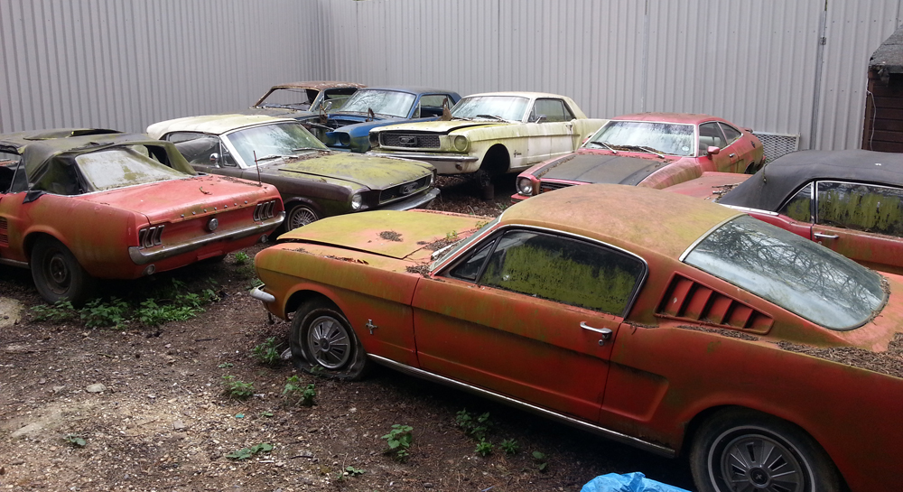 66 Mustang Fastback >> The Graveyard | Mustang Maniac