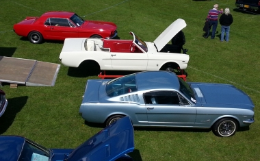 '67 Coupe, '65 convertible, '67 Fastback