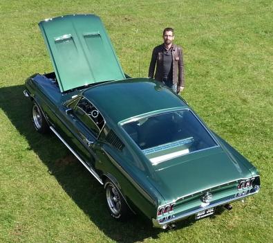 Martin & his '67 Fastback