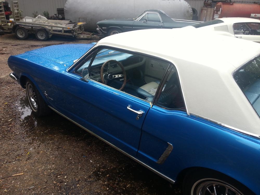 64 1 2 Mustang Vinyl Roof Mustang Maniac