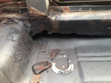 the true extent of the rotted chassis