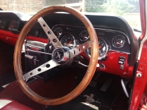wheel and dash