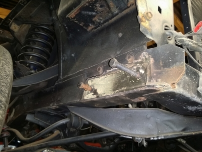 bumper mount plate