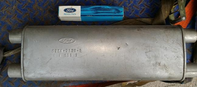 390 NOS exhaust