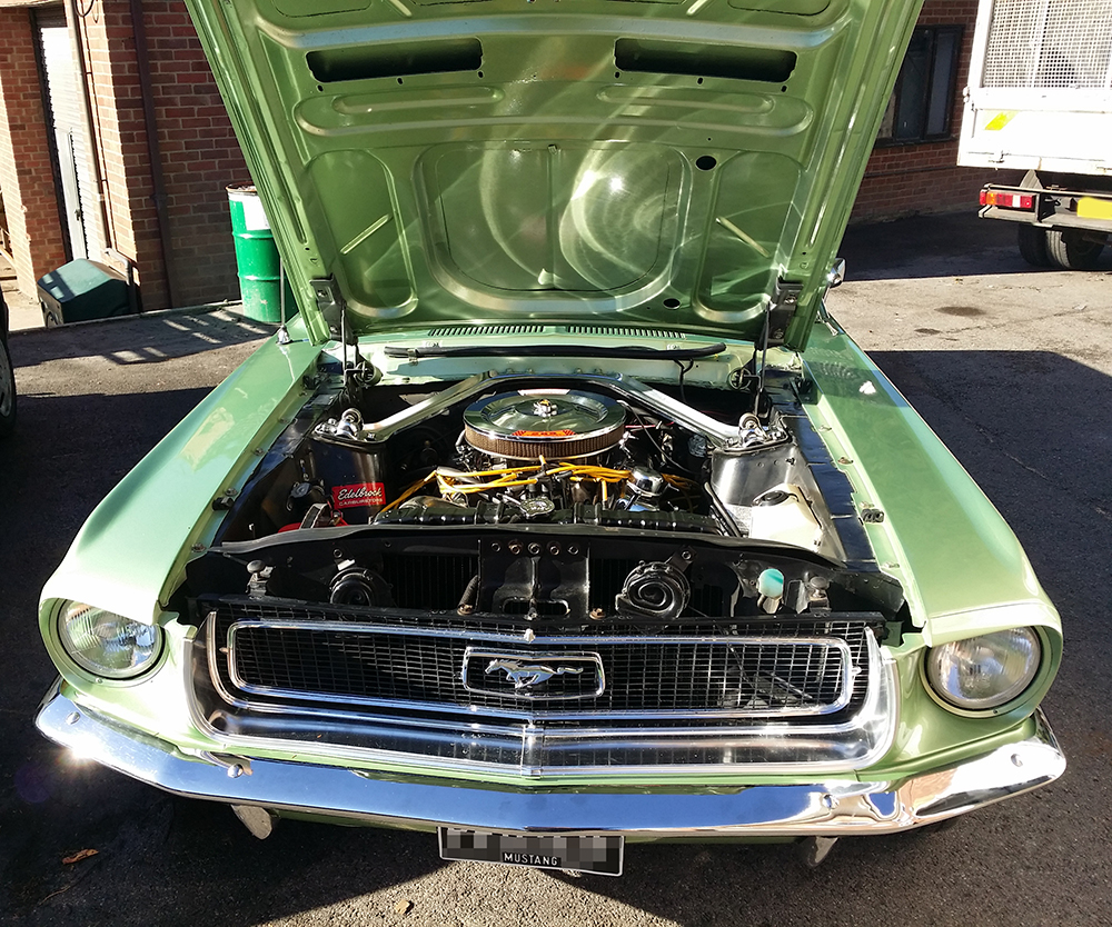 Liv S 1968 Coupe 289 Auto Mustang Maniac