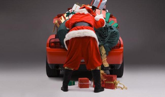 Santa new sleigh2