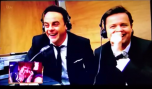 Ant & Dec directing the chaos