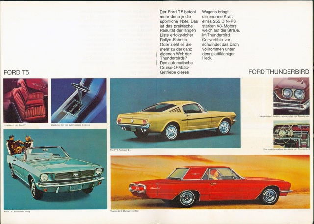 German Ford T5 Brochure