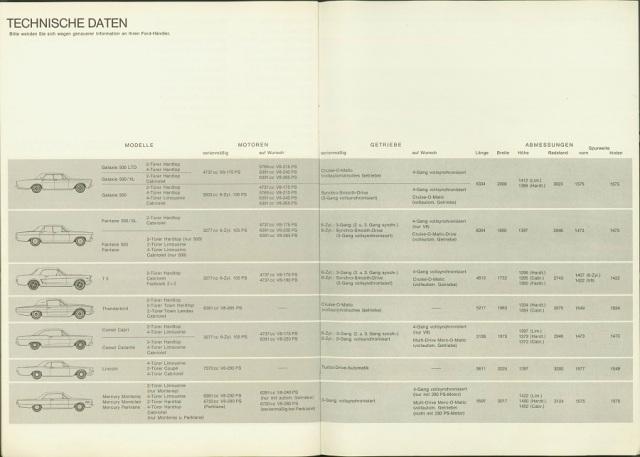 German Ford T5 Brochure