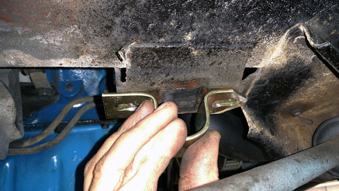 checking for bolt clearance