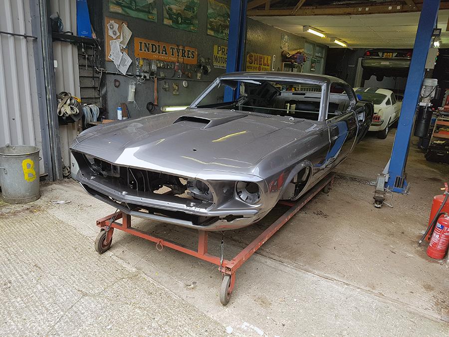The John Wick Car Mustang Maniac