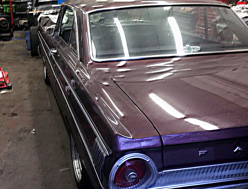 Next Up Was A 66 Fastback That Needed A Service, Minor Tune Ups, And A  Carpet Replacement. This Is An Ideal Time To Take A Look At The Important  Floor Pans ...